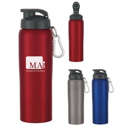 Stainless Steel Bike Bottle (24 Oz.)