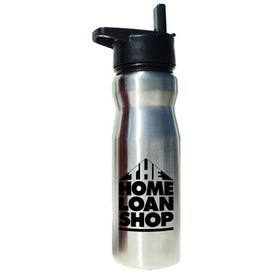 Advertising Stainless Steel Drink Bottle With Flip Top