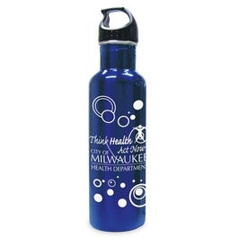 Stainless Steel Drink Bottle Imprinted with Your Logo