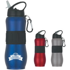 Stainless Steel Sport Grip Bottle (28 Oz.)