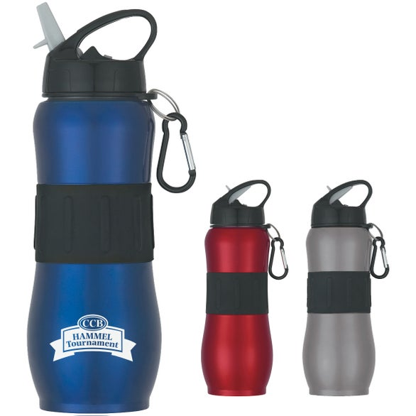 Stainless Steel Sport Grip Bottle