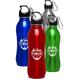 Stainless Steel Sports Water Bottles (25 Oz.)