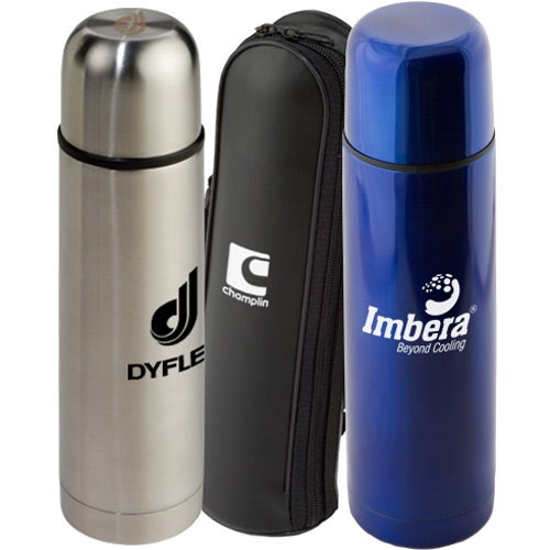 Stainless Steel Thermo Bottle with Case