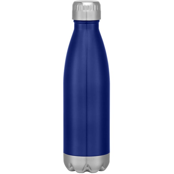Blue Stainless Steel Vacuum Bottle