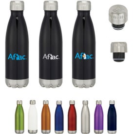 Stainless Steel Vacuum Bottles (16 Oz.)