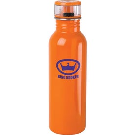 Stainless Steel Water Bottle Imprinted with Your Logo