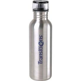 Stainless Steel Water Bottle (25 Oz.)