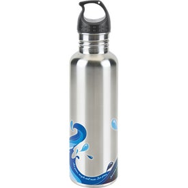 Stainless Wave Water Bottle for Your Organization