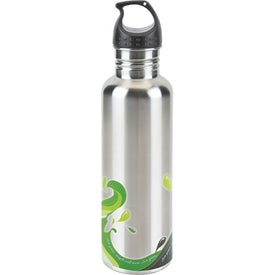 Stainless Wave Water Bottle with Your Logo