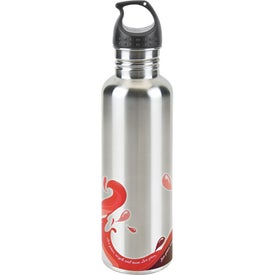 Promotional Stainless Wave Water Bottle