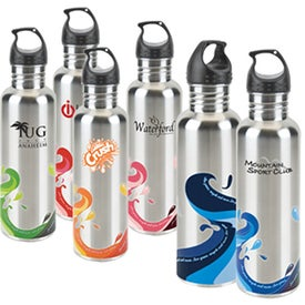 Stainless Wave Water Bottle
