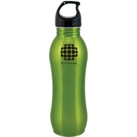Stainless Steel H2GO Balance Water Bottle for Your Company