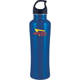 Personalized Stainless Steel H2GO Freedom Water Bottle