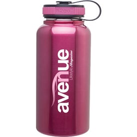 Stainless Steel H2GO Wide Water Bottle
