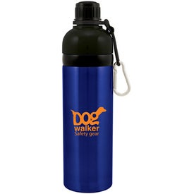 Printed Stainless Steel H2GO K9 Water Bottle