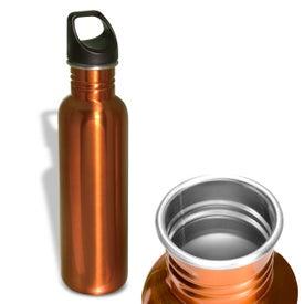 Monogrammed Streamline Stainless Bottle