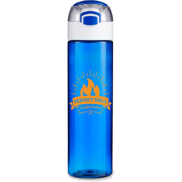 Translucent Blue Stride Tritan Sport Bottle