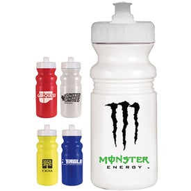 Imprinted Strobe Cycle Bottle