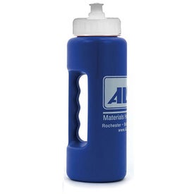 Printed Strobe Grip Bottle with Push 'n Pull Cap