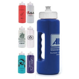 Monogrammed Strobe Grip Bottle with Push 'n Pull Cap