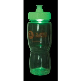 Strobe Ice Poly-Saver Mate Bottle for Advertising