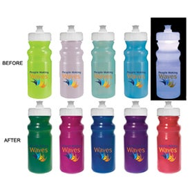Strobe Lid Sun Fun Cycle Bottle Branded with Your Logo