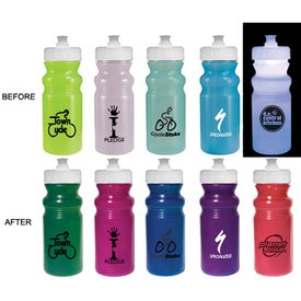 Logo Strobe Lid Sun Fun Cycle Bottle
