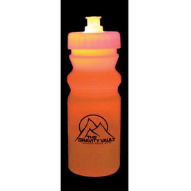 Strobe Lid Mood Cycle Bottle with Your Logo