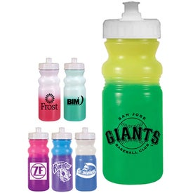Strobe Lid Mood Cycle Bottle Imprinted with Your Logo