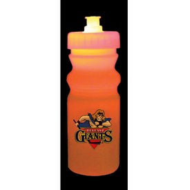 Strobe Lid Mood Cycle Bottle for Advertising