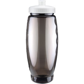 Logo Summit Bottle with Push Pull Lid