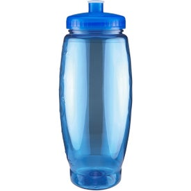 Imprinted Summit Bottle with Push Pull Lid