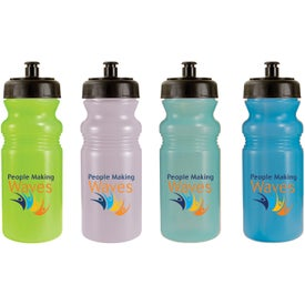 Sun Fun Color Change Bottle with Your Slogan