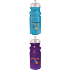 Sun Fun Color Change Bottle Branded with Your Logo
