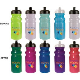Printed Sun Fun Color Change Bottle
