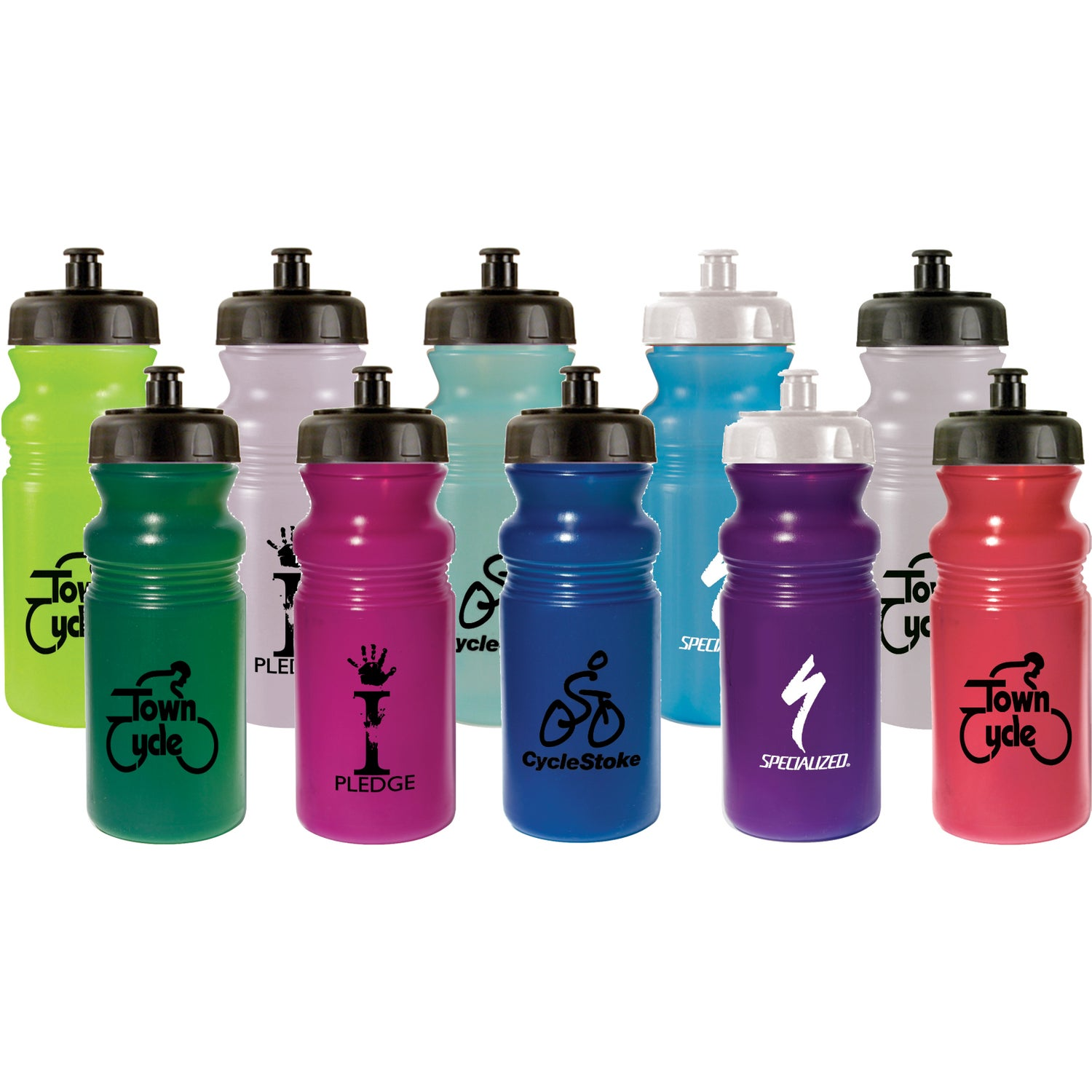Sun fun color changing cycle bottle 20 oz for Create custom water bottles