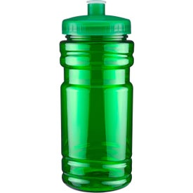 Surf Bottle with Push Pull Lid Imprinted with Your Logo