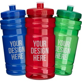 Surf Bottles with Push Pull Lid (20 Oz.)