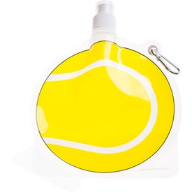 HydroPouch Tennis Ball Collapsible Bottle for Promotion