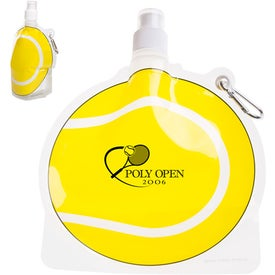 HydroPouch Tennis Ball Collapsible Bottle (24 Oz.)