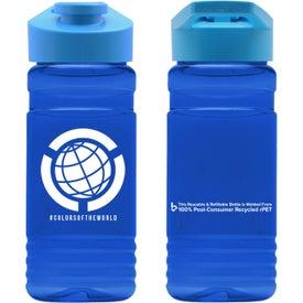 The Big Grip PETE Bottle (20 Oz., Drink-Thru Lid)