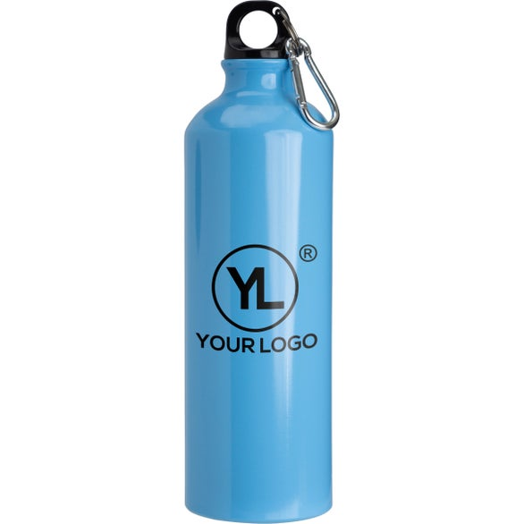 Light Blue Pacific Aluminum Sports Bottle