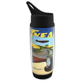 The Digital Daytona Water Bottle with Your Slogan