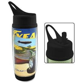 The Digital Daytona Water Bottle (17 Oz.)