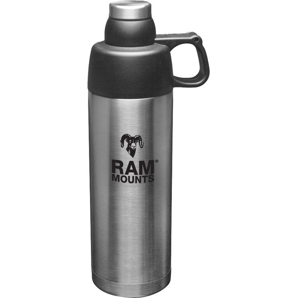 Silver Thermo Flask Insulated Water Bottle
