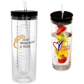 Thirstinator Sipper with Infuser for Advertising