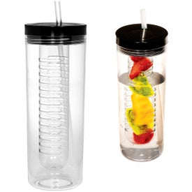 Thirstinator Sipper with Infuser Branded with Your Logo