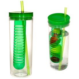 Advertising Thirstinator Sipper with Infuser