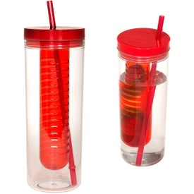 Thirstinator Sipper with Infuser with Your Slogan