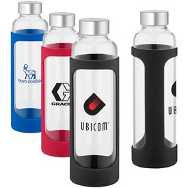 Tioga Glass Water Bottles (20 Oz.)